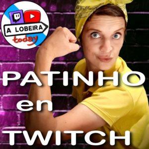 Patinho en Twitch